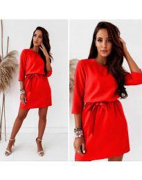 Šaty - kód 778 - červená