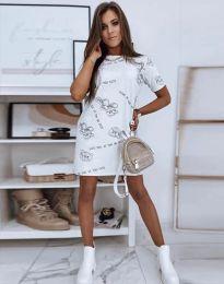 Šaty - kód 2906 - biela