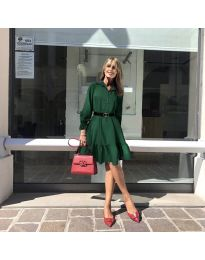 Šaty - kód 960 - tmavě zelená