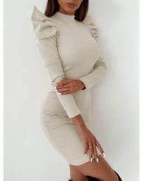 Šaty - kód 9303 - biela