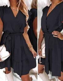 Šaty - kód 2345 - čierná