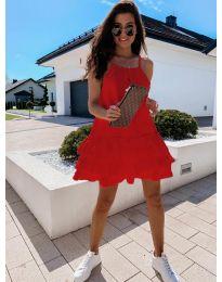 Šaty - kód 451 - červená