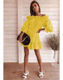 Šaty - kód 3386 - žltá