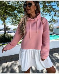 Šaty - kód 6947 - ružová