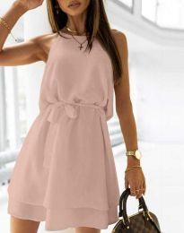 Šaty - kód 9968 - pudrová