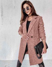 Kabát - kód 0964 - pudrová