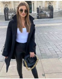 Kabát - kód 8757 - čierná