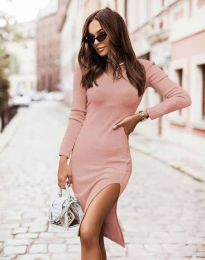 Šaty - kód 6593 - ružová