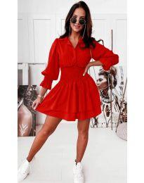 Šaty - kód 1843 - červená