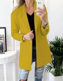 Kabát - kód 4679 - hořčičná