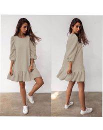 Šaty - kód 784 - bežová