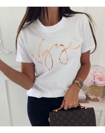Tričko - kód 3350 - biela