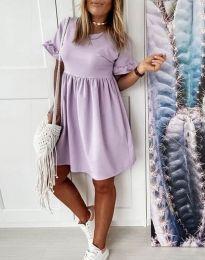 Šaty - kód 1733 - svetlo fialová