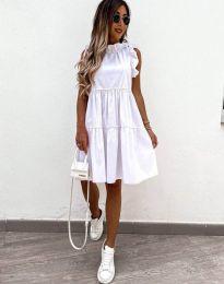 Šaty - kód 2663 - biela