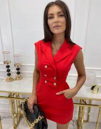 Šaty - kód 9265 - červená
