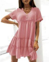 Šaty - kód 7205 - ružová