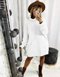Šaty - kód 2933 - biela