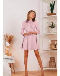 Šaty - kód 6619 - ružová