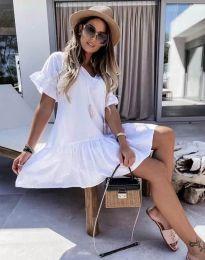 Šaty - kód 6144 - biela