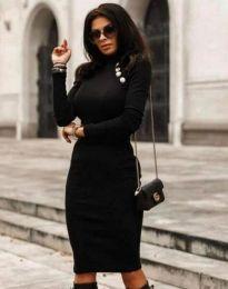 Šaty - kód 9768 - 3 - čierná