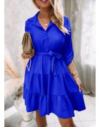 Šaty - kód 6970 - modrá