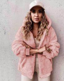 Kabát - kód 5489 - 3 - ružová
