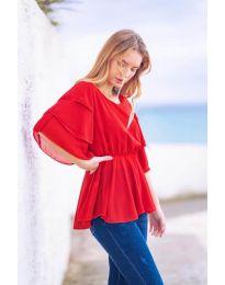 Tričko - kód 504 - červená