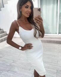 Šaty - kód 2765 - biela