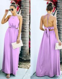 Šaty - kód 6121 - svetlo fialová