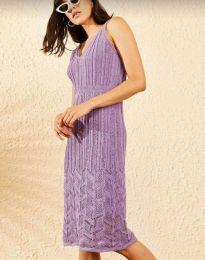 Šaty - kód 0351 - fialová