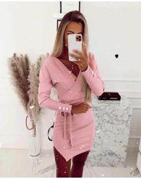 Šaty - kód 2077 - ružová