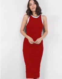 Šaty - kód 5273 - červená