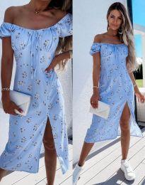 Šaty - kód 2127 - svetlo modrá
