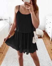 Šaty - kód 8596 - čierná