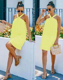 Šaty - kód 9103 - žltá