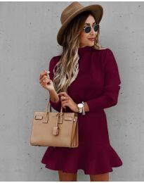 Šaty - kód 9140 - bordeaux