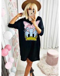 Šaty - kód 0706 - čierná