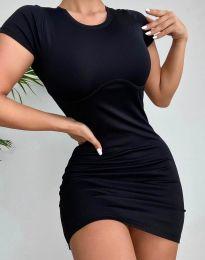 Šaty - kód 12833 - čierná