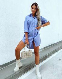 Šaty - kód 7589 - svetlo modrá