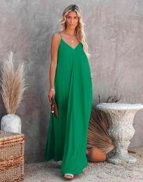 Šaty - kód 4673 - zelená