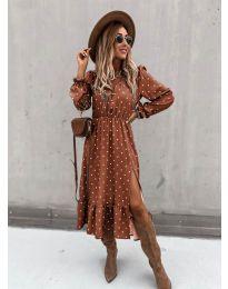 Šaty - kód 8866 - 3 - viacfarebné