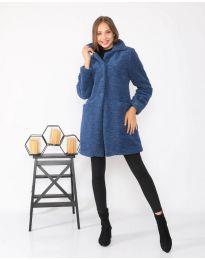 Kabát - kód 1615 - 1 - modrá