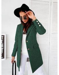 Kabát - kód 1514 - 2 - zelená