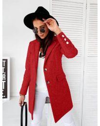 Kabát - kód 1514 - 5 - červená