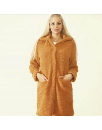 Kabát - kód 1615 - 6 - hnedá