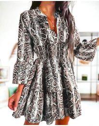 Šaty - kód 4250 - viacfarebné