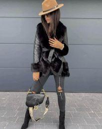 Kabát - kód 6005 - 1 - čierná