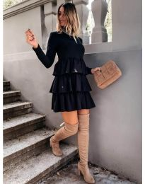 Šaty - kód 2951 - čierná