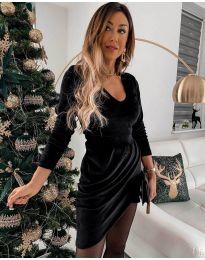 Šaty - kód 2129 - čierná