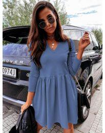 Šaty - kód 0060 - modrá